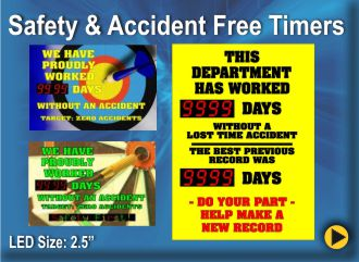 BRG Safety & Accident Free Timers
