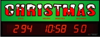 Countdown clock to Christmas