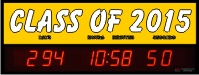 Countdown clock to the class of 2015