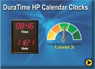 BRG's DuraTime HP Calendar Clocks
