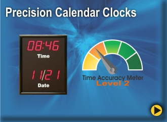 BRG's Precision Calendar Clocks