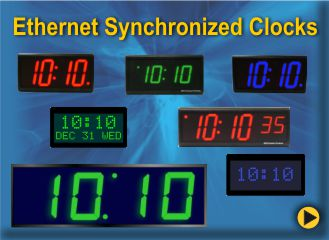 BRG Ethernet Synchronized Clocks